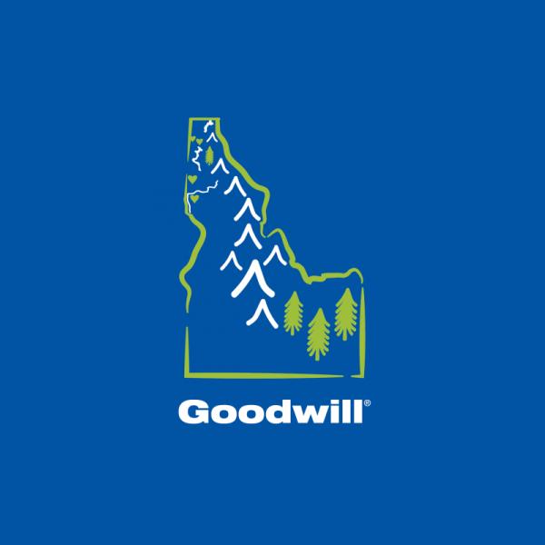 Goodwill with Idaho illustration.